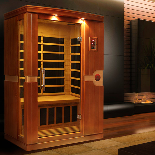Dynamic Saunas Venice 2 Person FAR Infrared Sauna by Overstock