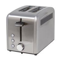 Farberware 2-Slice Rapid Toaster, Stainless Steel with Extra-Wide Slots