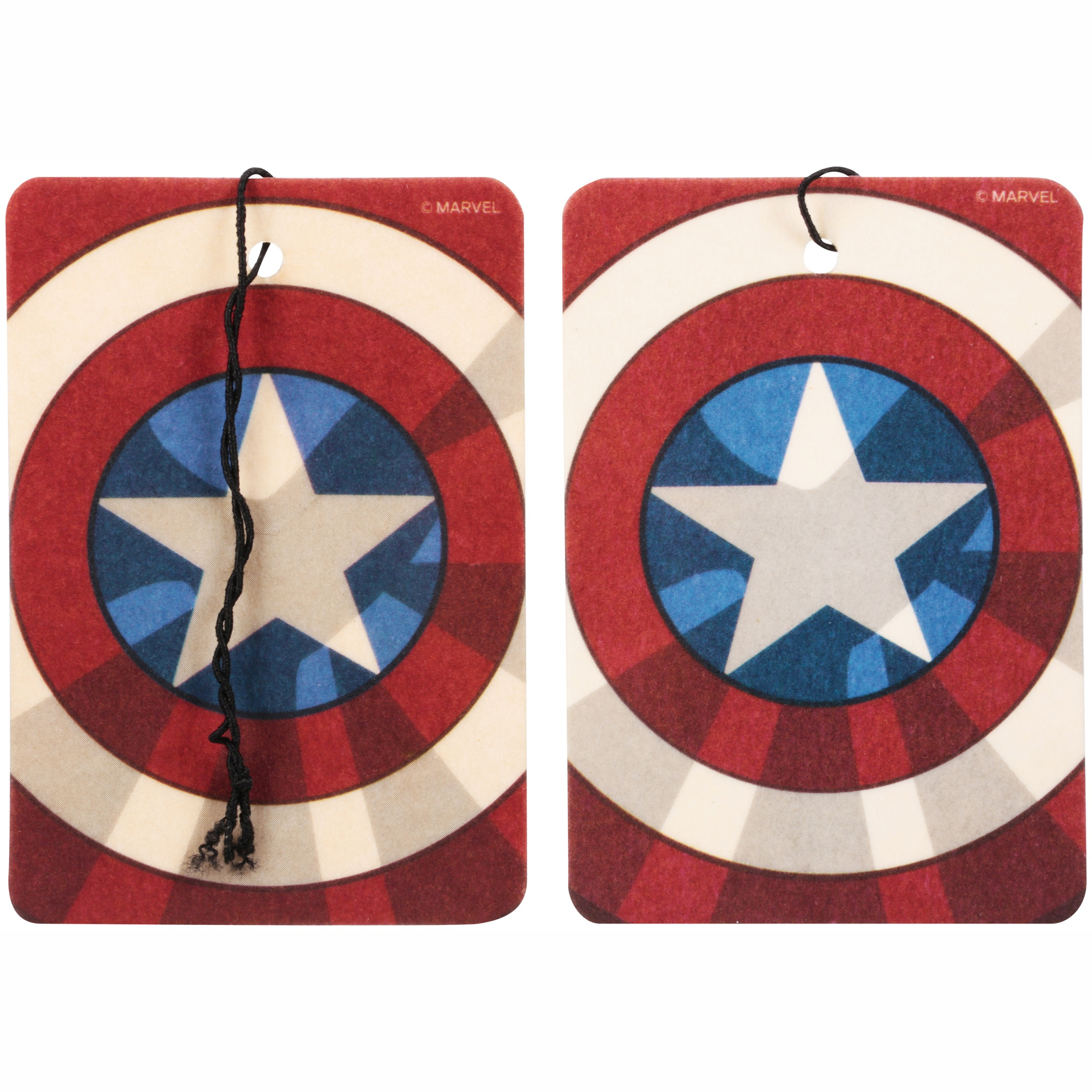 (2 pack) Marvel Avengers Assemble™ Captain America Vanilla Air Freshener 2 ct Pack