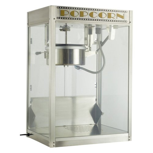 Benchmark USA 11087 120 Volt Silver Screen Popcorn Popper by Benchmark USA Inc