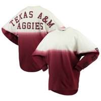 Texas A&M Aggies Women's Sleeve Repeat Logo Long Sleeve T-Shirt - Maroon