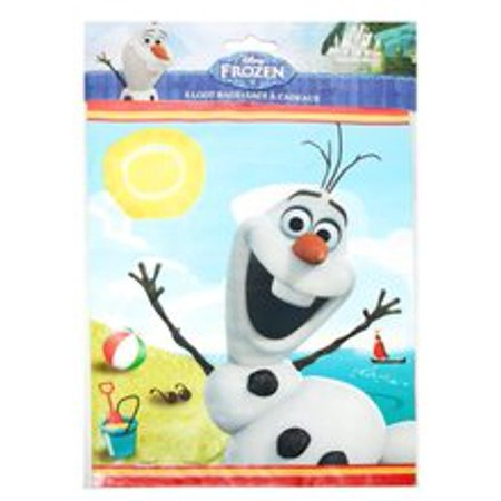 Frozen Olaf Loot Bags (Olaf Party Bags)