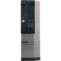 Refurbished Dell OptiPlex 3010 Small Form Factor Desktop PC with Intel Core i3-3220 Processor, 8GB Memory, 1TB Hard Drive and Windows 10 Pro (Monitor Not Included)