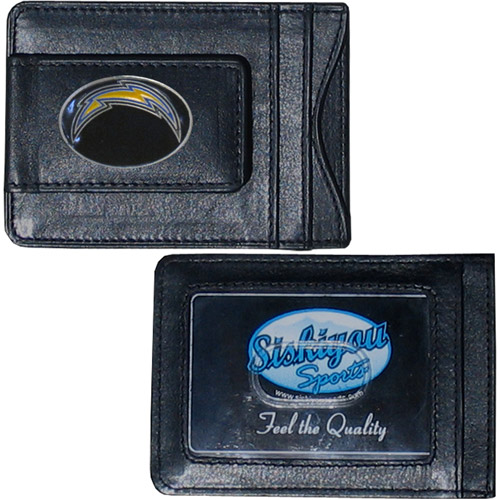 NFL - Money Clip and Cardholder,  San Diego Chargers