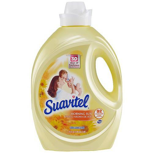 Suavitel Morning Sun Liquid Fabric Conditioner, 135 fl oz