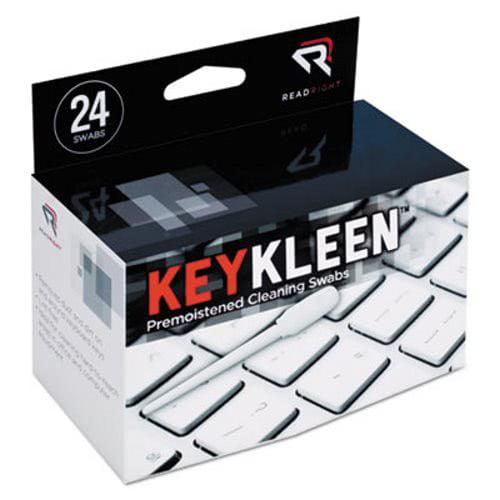 Read Right KeyKleen Keyboard Cleaner Swabs, 24/Box (REARR1243)
