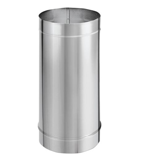 "DuraVent 6DBK-48SS 6"" Inner Diameter - DuraBlack Stove Pipe - Single Wall - 48"" Pipe Length"