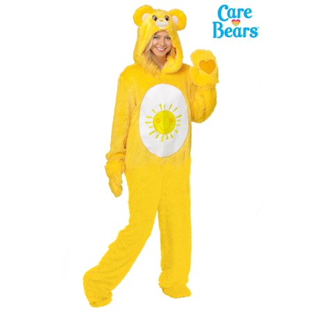Care Bears Adult Classic Funshine Bear Costume (Bear Costumes For Adults)