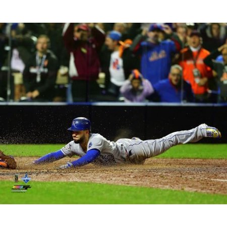 Eric Hosmer scores the game tying run Game 5 of the 2015 World Series Photo Print Framed Photo World Series Game