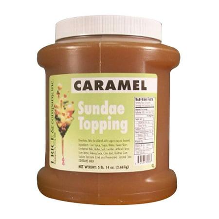 I.Rice & Company Caramel Topping, 1/2 gal. Jar | 1 - Caramel Apple Toppings Halloween