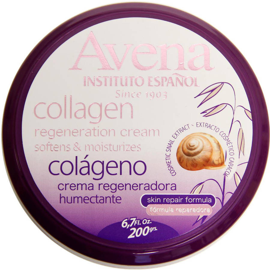 Avena Collagen Regeneration Hand & Body Cream, 6.7 fl oz by INSTITUTO ESPANOL