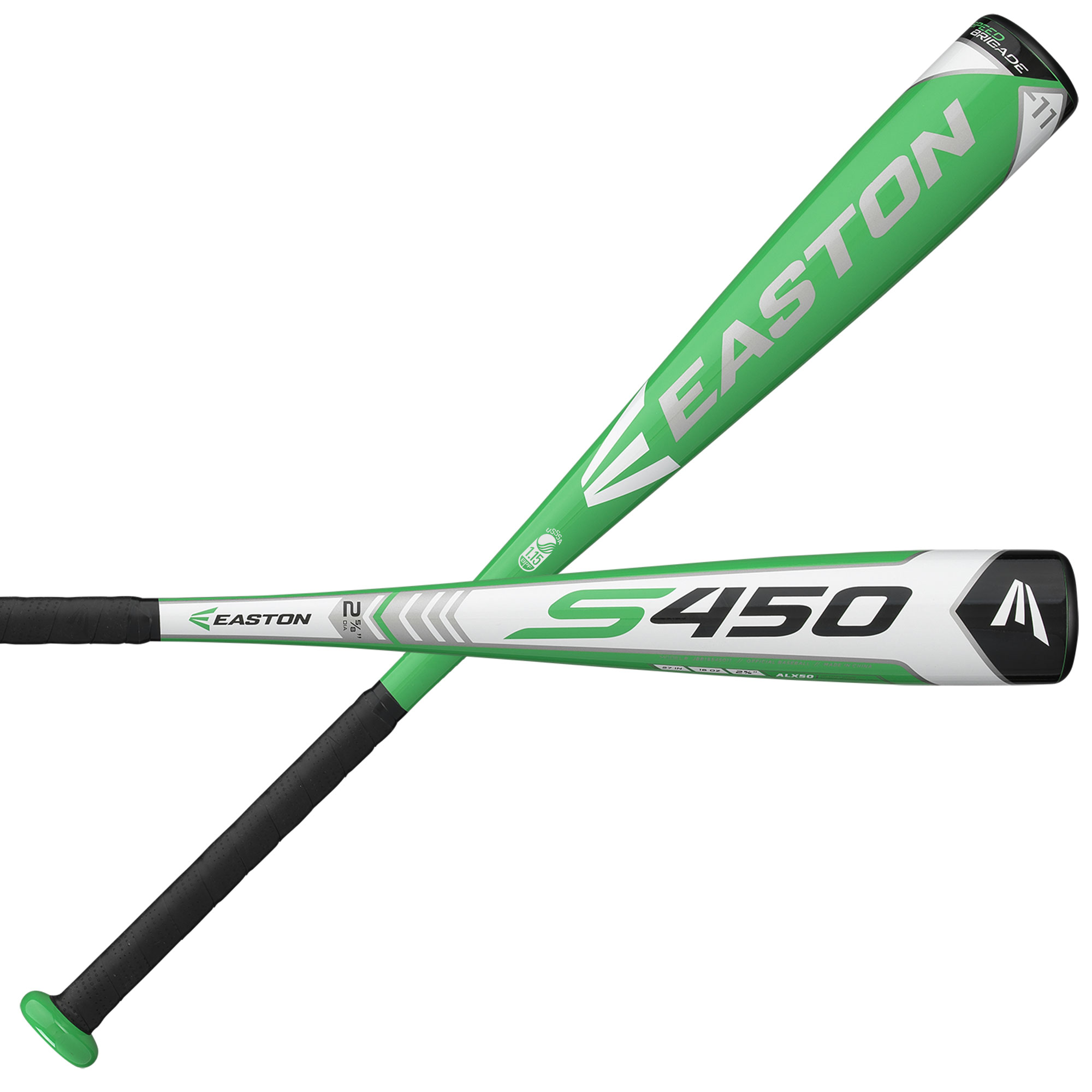 Easton S450 (-11) JBB18S45011 Jr. Big Barrel Baseball Bat