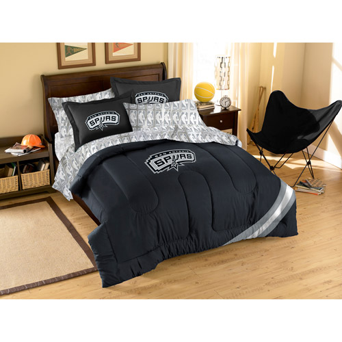 Nba Applique 3-piece Bedding Comforter S