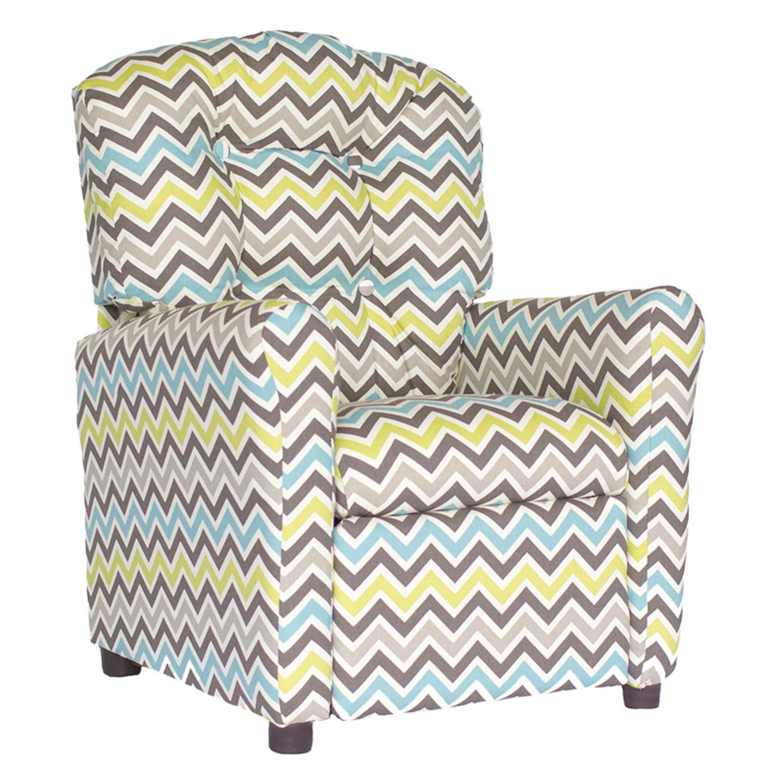 Brazil Furniture Zoom Zoom 4 Button Child Recliner - Mantis
