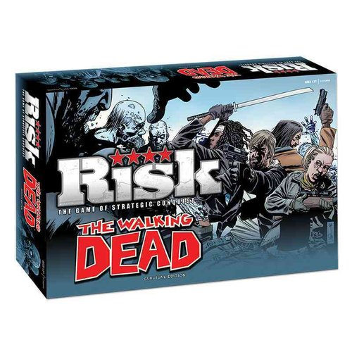 how to play risk walking dead edition