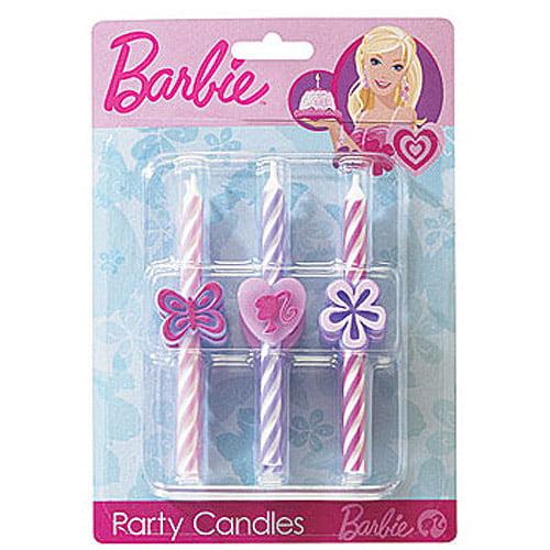 Barbie Birthday Candles