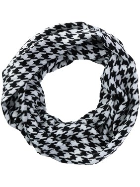 David & Young  Houndstooth Infinity Loop Scarf (Women's)