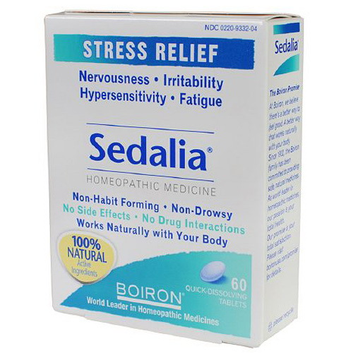 Boiron Sedalia Tablets For Stress - 60 Ea