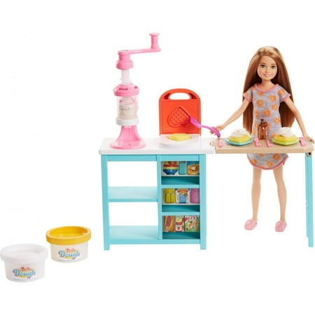 - Barbie Stacie Cooking & Baking Breakfast Chef Doll & Playset
