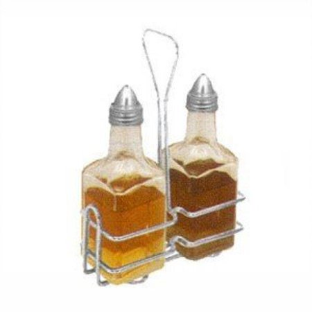 Chrome Jars (Winco WH-3 Square Oil and Vinegar Holder, 6 Ounce, Chrome Plated)