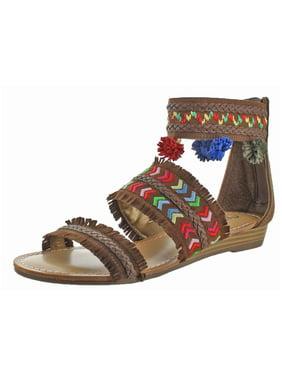 cd53e6cebd2 Carlos by Carlos Santana Womens Sandals & Flip-flops - Walmart.com