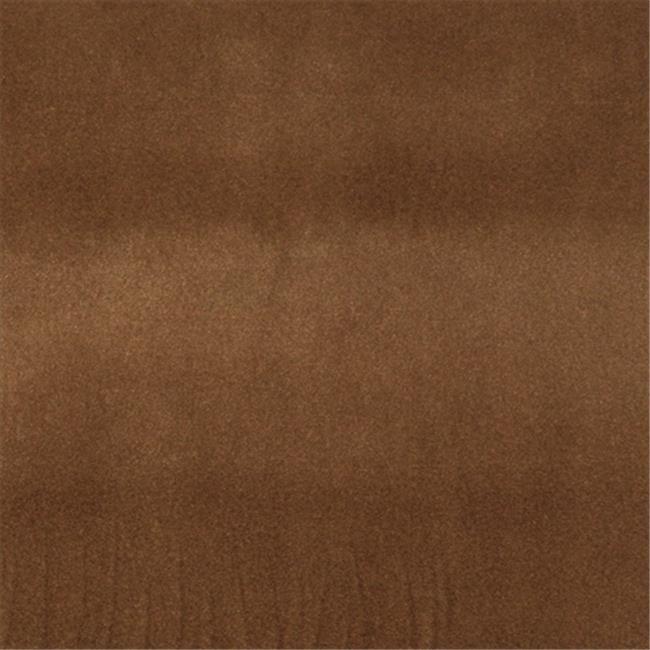 Designer Fabrics C853 54 inch Wide Brown, Solid Plain Velvet Automotive, Residential And Commercial Upholstery Velvet
