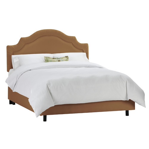 Skyline Tufted Arch Upholstered Panel Bed