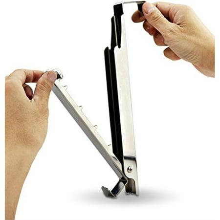 Pro Chef Kitchen Tools Coat Hooks Folding Valet Door Organizer Over Hook Jewelry Holder Clothing Office Cubicle Purse