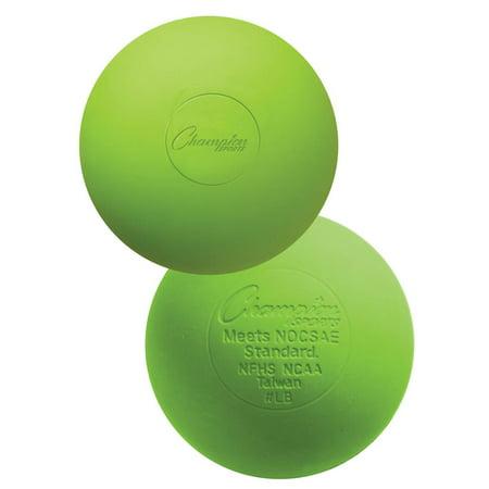 Official Lacrosse Ball in Lime Green - Set of 12 (Lacrosse Glow In Dark Ball)