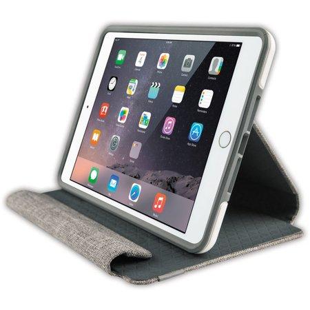 brand new a253e 0490a OtterBox Symmetry Series Folio Case for iPad Mini 3/2/1 - Glacier Storm  (White/Gunmental Grey) (Certified Refurbished)