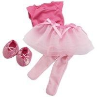 "Manhattan Toy Baby Stella, Tiptoe Ballet Tutu 15"" Baby Doll Outfit"