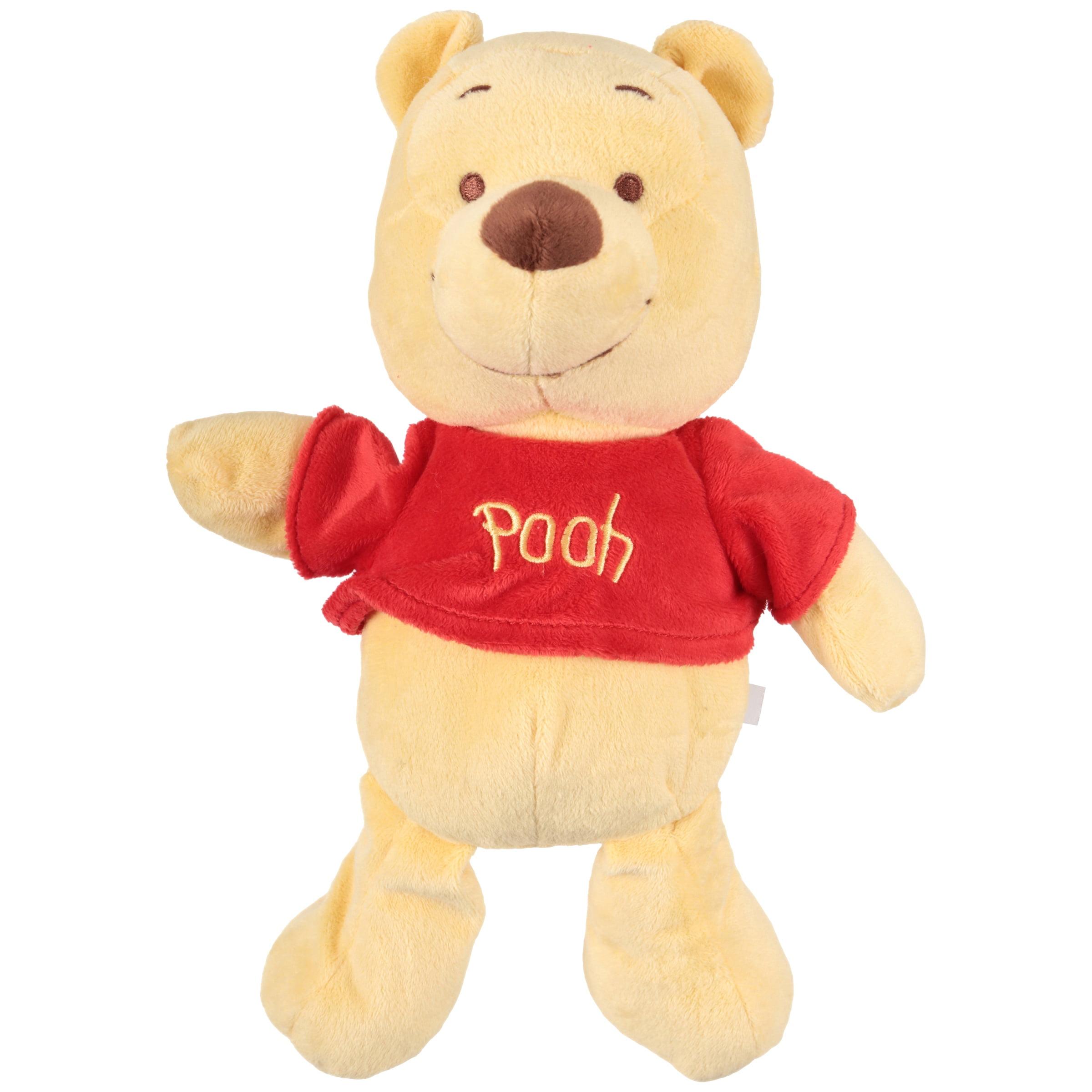 aa1ddfe3b0da Disney Baby Winnie The Pooh Teddy Bear Plush - Walmart.com