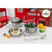 KidKraft Deluxe Cookware Set with 11 Pieces