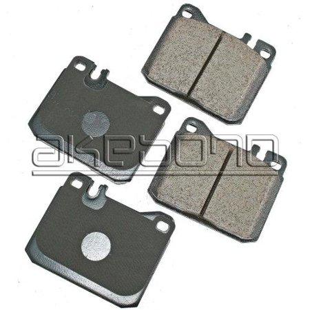 Akebono EURO Ultra-Premium Ceramic Disc Brake Pads (EUR1072) Akebono Euro Brake Pads