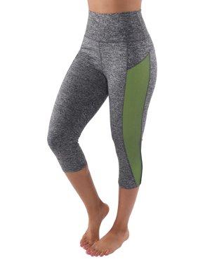240db98966cae Product Image Sassy Apparel Womens High Waist Side Detail Workout Capri  Pants (L/XL, Neon