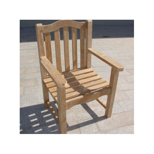 Royal Teak by Lanza Products Teakwood Leven Dining Arm Chair
