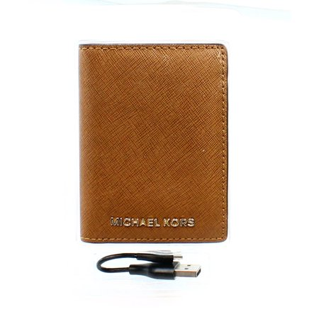 41139e2216d8 Michael Kors - Michael Kors NEW Brown Universal Phone Charger Bifold ...