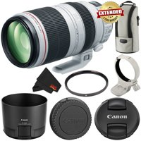 Canon EF 100-400mm f/4.5-5.6L IS II USM Lens International Version (No Warranty) 9524B002 - Starter Bundle