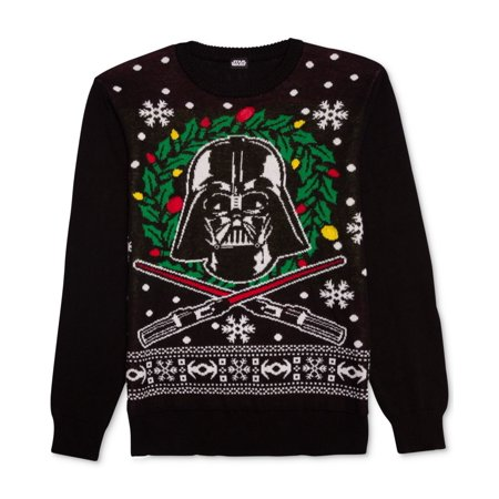 - Star Wars NEW Black Mens Size Medium M Pullover Crewneck Sweater