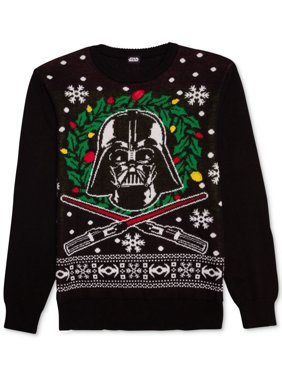 a41acd031 Product Image Star Wars NEW Black Mens Size Medium M Pullover Crewneck  Sweater