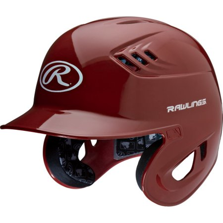 Rawlingts Coolflo High Schoool/College Clear Coat Baseball Batting Helmet