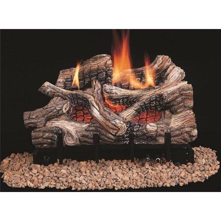 Comfort Flame Crb3624nra Vent Free Gas Log 25000 36000 Btu 24 In Natural Gas Ceramic Fiber