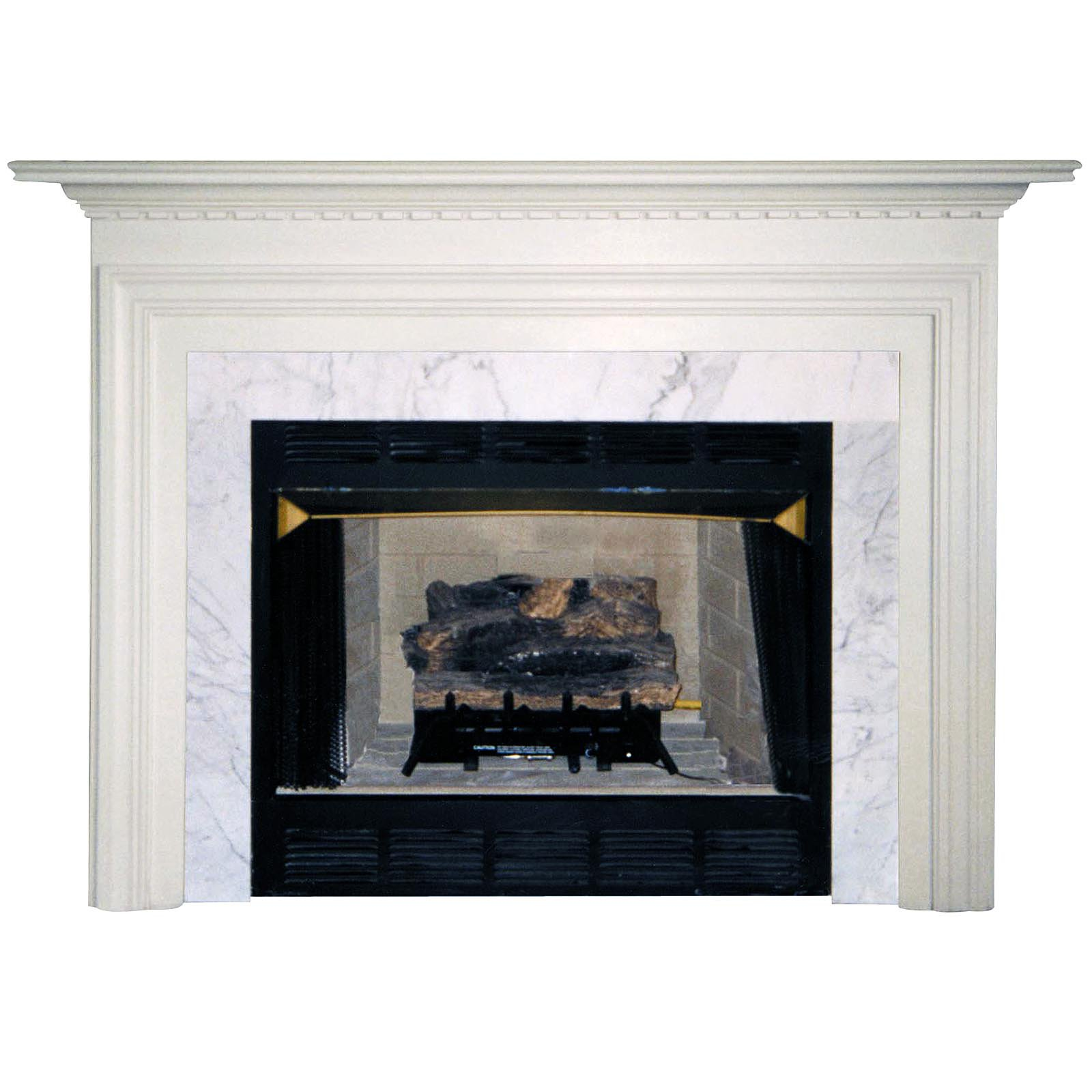 pearl mantels newport wood fireplace mantel surround walmart com
