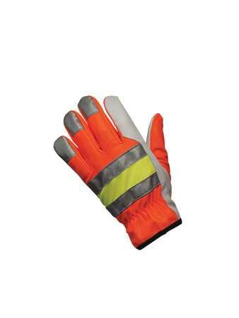 Leather Gloves,Goatskin,S,PR MCR SAFETY 36111S