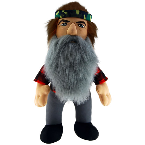 "Duck Dynasty 24"" Plush with Sound, Phil"