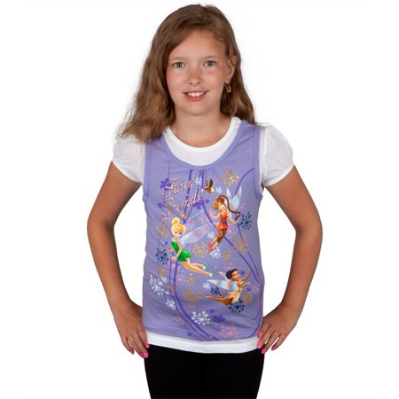 Disney Fairies - Fairy Friends Girls Juvy Short Sleeve