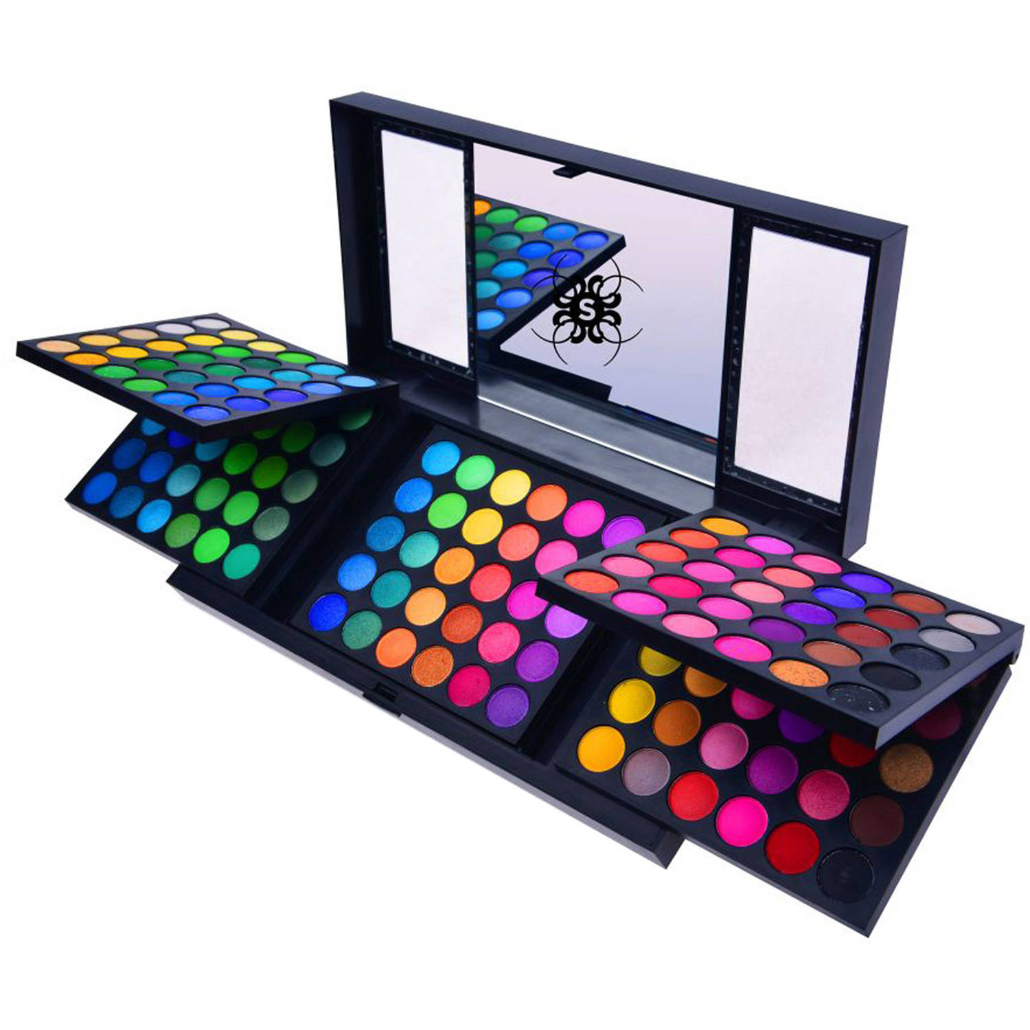 SHANY United Colors of SHANY Eye Shadow Palette, 180 pc - Walmart.com