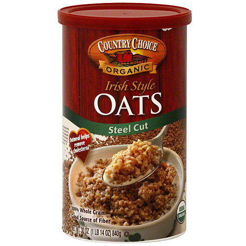 Country Choice Organic Irish Style Steel Cut Oats, 30 oz (Pack of 6)