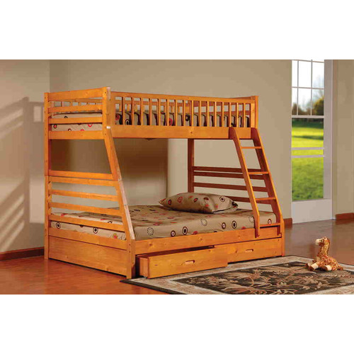 InRoom Designs Twin Over Full Bunk Bed