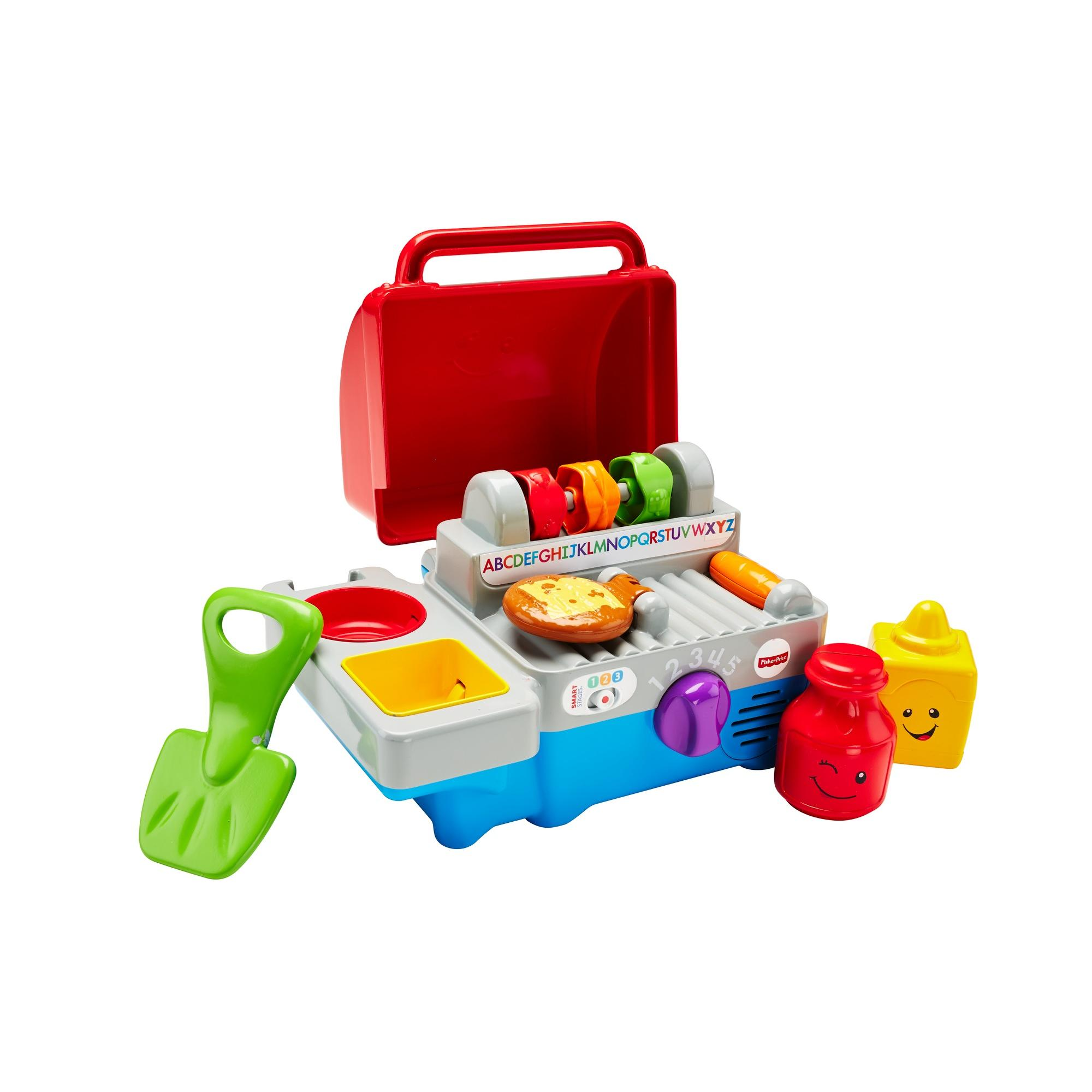 Fisher Price Laugh & Learn Smart Stages Grill by Fisher-Price